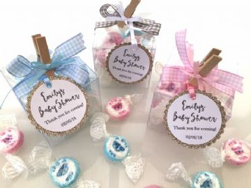 personalised Baby Shower Favours